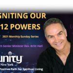 12 POWERS WORKSHOP with Rev. Britt Hall, Senior Minister