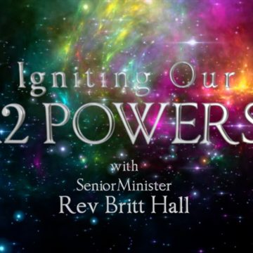 "IGNITING OUR 12 POWERS SERIES ""Speak the Word!"""